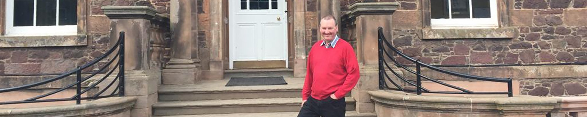 Myself at my old Prep School Belhaven Hill, Dunbar, East Lothian