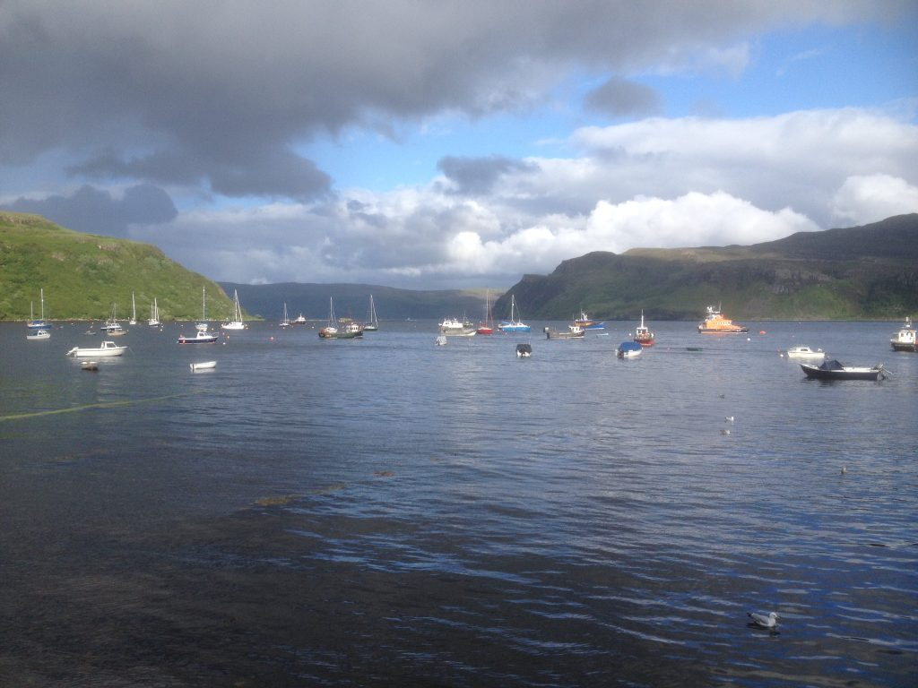 Portree Bay, Skye