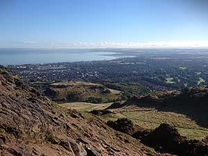 East Lothian from Arthurs Seat